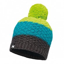 Шапка BUFF KNITTED & POLAR HAT BUFF TIZZY GREY CASTLEROCK-GREY CASTLEROCK-Standard