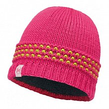 Шапка BUFF JUNIOR KNITTED & POLAR HAT BUFF JAMBO PINK AZALEA-PINK AZALEA-Standard