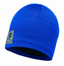 Шапка BUFF KNITTED & POLAR HAT BUFF SOLID BLUE SKYDIVER-BLUE SKYDIVER-Standard/OD