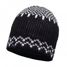 Шапка BUFF LEISURE COLLECTION KNITTED & POLAR HAT BUFF HARPER BLACK