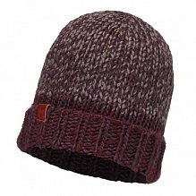 Шапка BUFF DAILY COLLECTION KNITTED & POLAR HAT BUFF DEAN WINE
