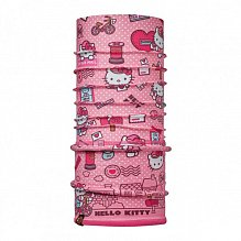 Бандана BUFF HELLO KITTY CHILD POLAR BUFF  MAILING ROSE / DRAGON FRUIT