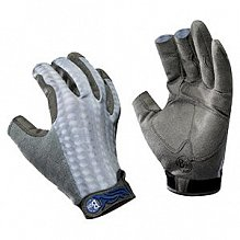 Перчатки рыболовные BUFF Fighting & Work Gloves PS Gray Scale