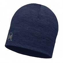 Шапка BUFF LIGHTWEIGHT MERINO WOOL HAT SOLID DENIM